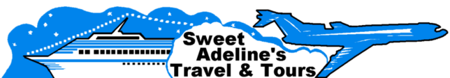 Ship and Plane (Sweet Adeline's Travel & Tours Logo