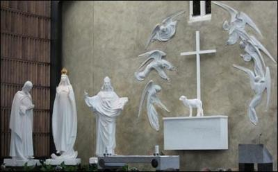 Photo of our Lady of Knock Altar in Ireland